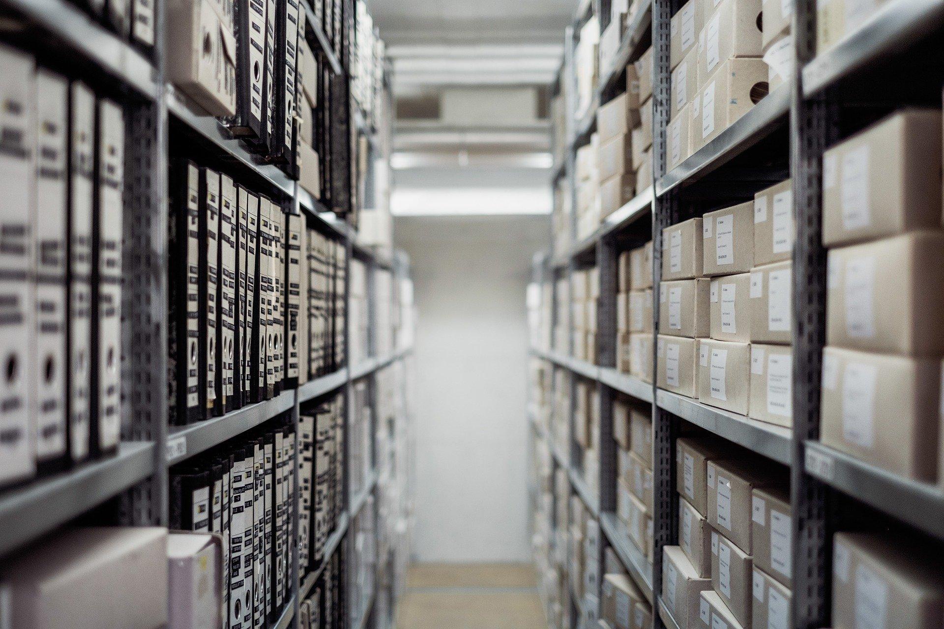 Archivo Cajas Documentos